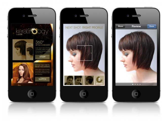 Sunsilk iphone app