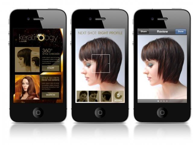 Sunsilk iphone app
