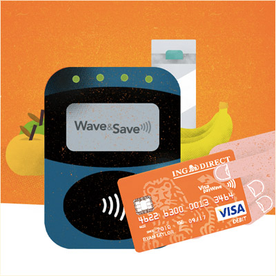 ING Direct Wave & Save
